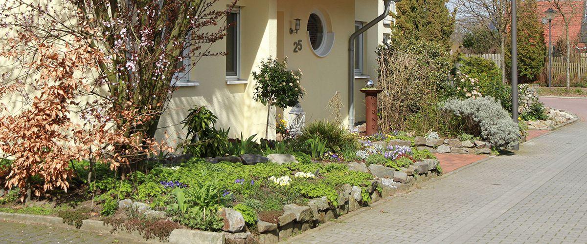 Projekt Vorgarten Saw Garten Und Landschaftsbau In Sagard