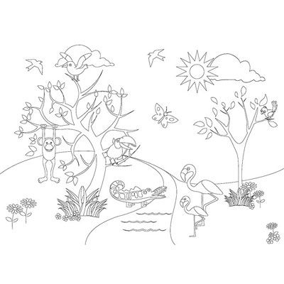 Malvorlagen Bunter Spaß Für Kleiner Künstler Saw Garten Und